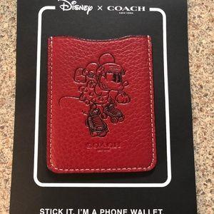 Coach Disney Phone wallet